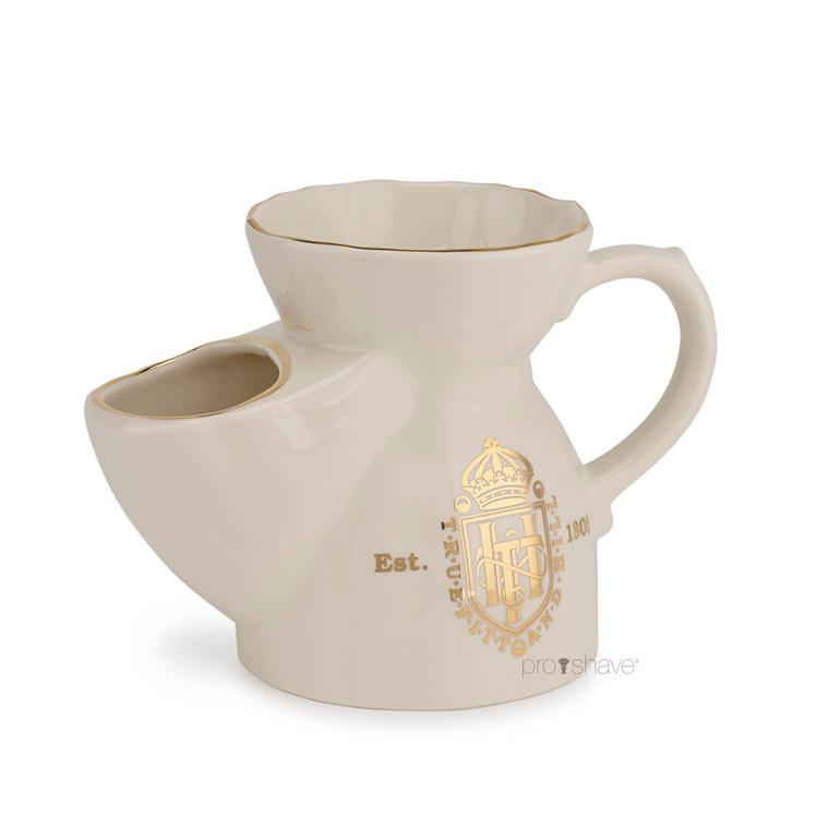 Truefitt & Hill  Shaving Mug (Scuttle), Cream