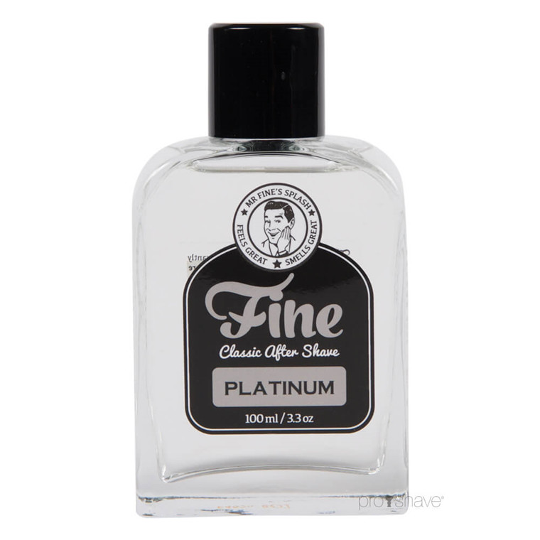 Fine Platinum Classic Aftershave, 100 ml.
