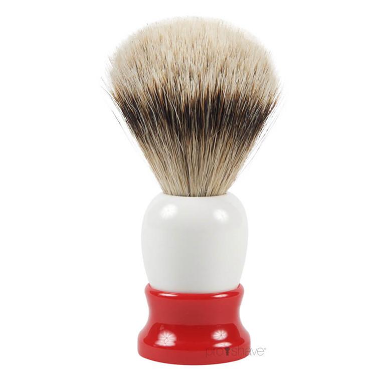 Fine Silvertip Badger Barberkost, 20 mm.