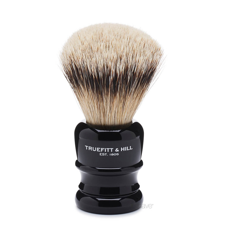 Truefitt & Hill Barberkost, Wellington, Super Badger, Faux Ebony
