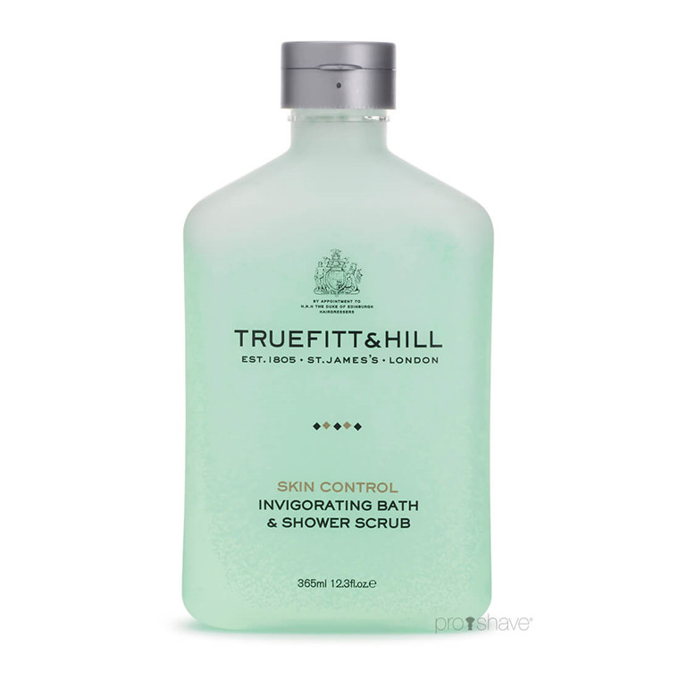 Truefitt & Hill Invigorating Bath & Shower Scrub, 365 ml.