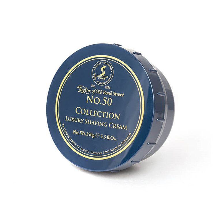 Taylor Of Old Bond Street Barbercreme, No. 50 Collection, 150 gr.