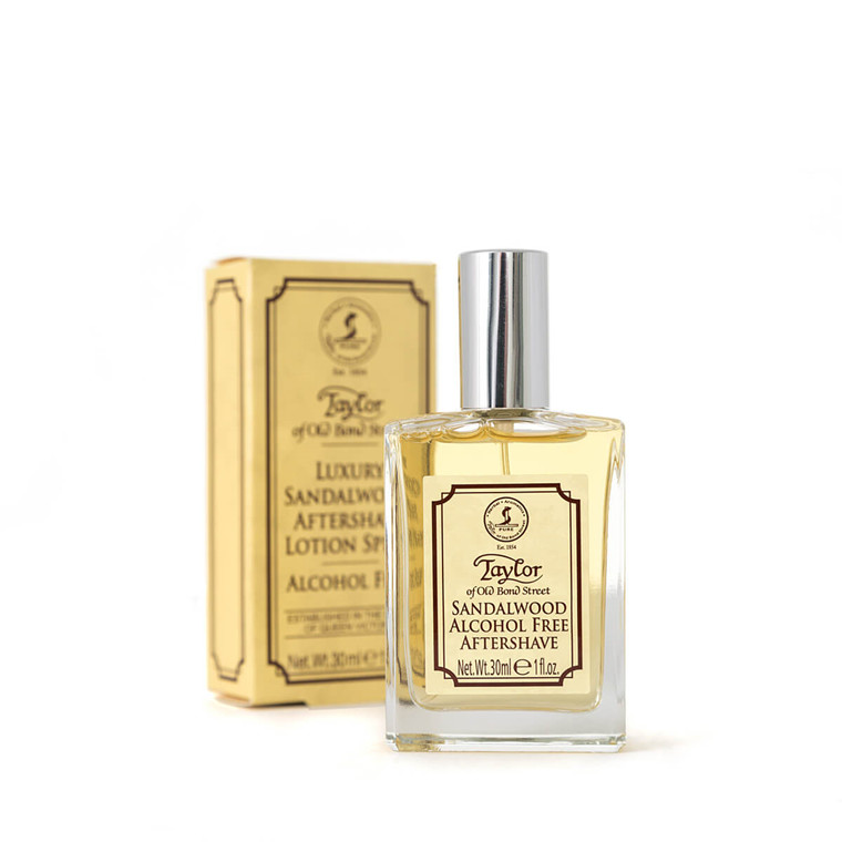 Taylor Of Old Bond Street Aftershave, Sandeltræ, 30 ml.