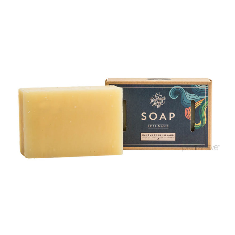 The Handmade Soap Co. Sæbe - Real Man's soap, 160 gr.