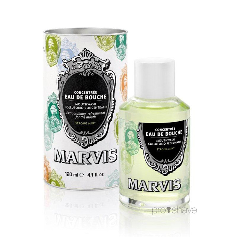 Marvis Mundskyl, Strong Mint, 120 ml.