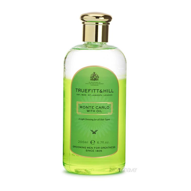 Truefitt & Hill Monte Carlo (med olie) Hair Dressing, 200 ml.