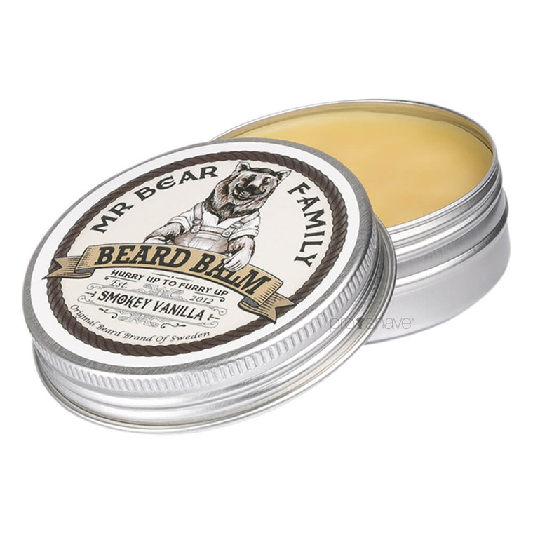 Mr. Bear Beard Balm Smokey Vanilla, Limited Edition, 60 ml.