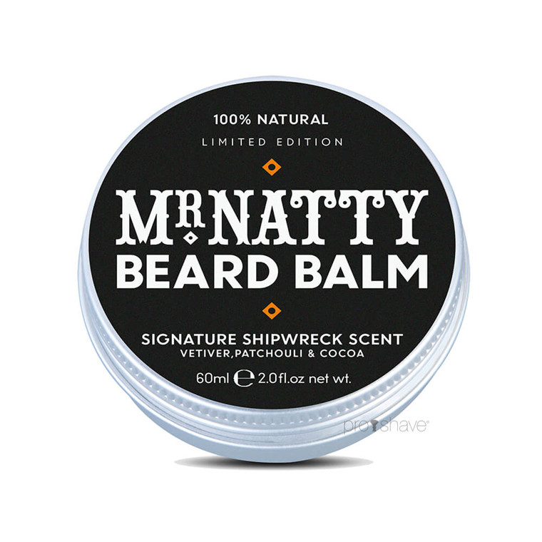 Mr Natty Beard Balm, 60 ml.