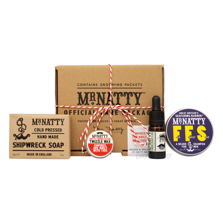 Mr Natty Hirsute Rouge Care Package