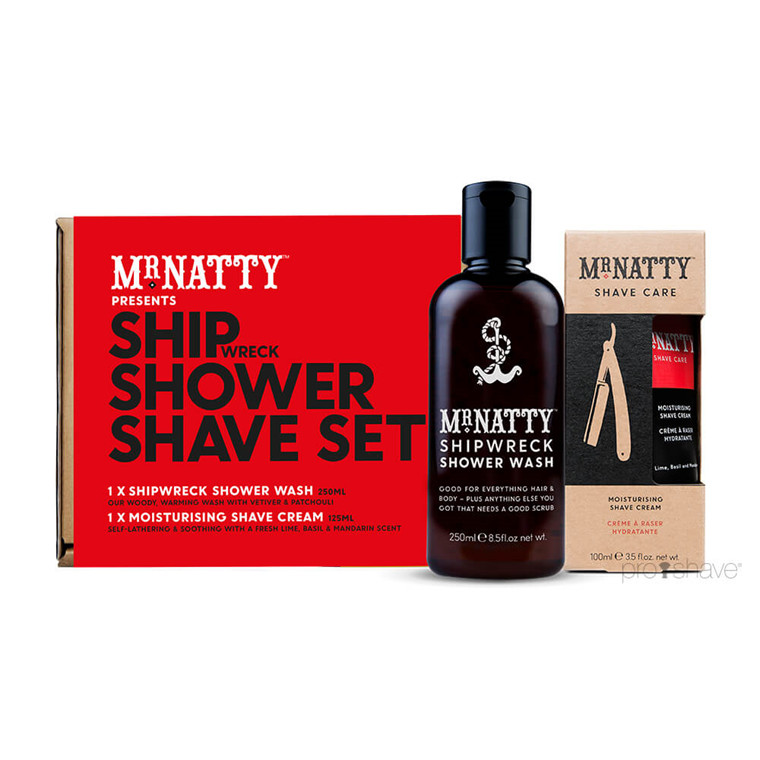 Mr Natty Ship, Shower, Shave