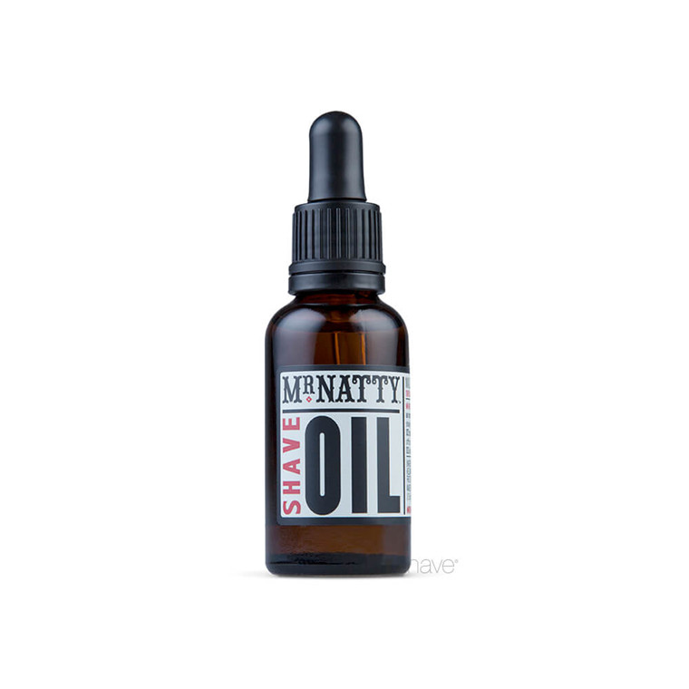 Mr Natty Shave Oil, 30 ml.