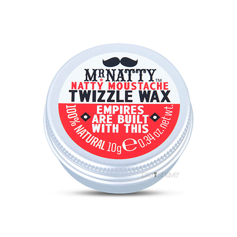 Mr Natty Moustache Twizzle Wax, 10 ml.