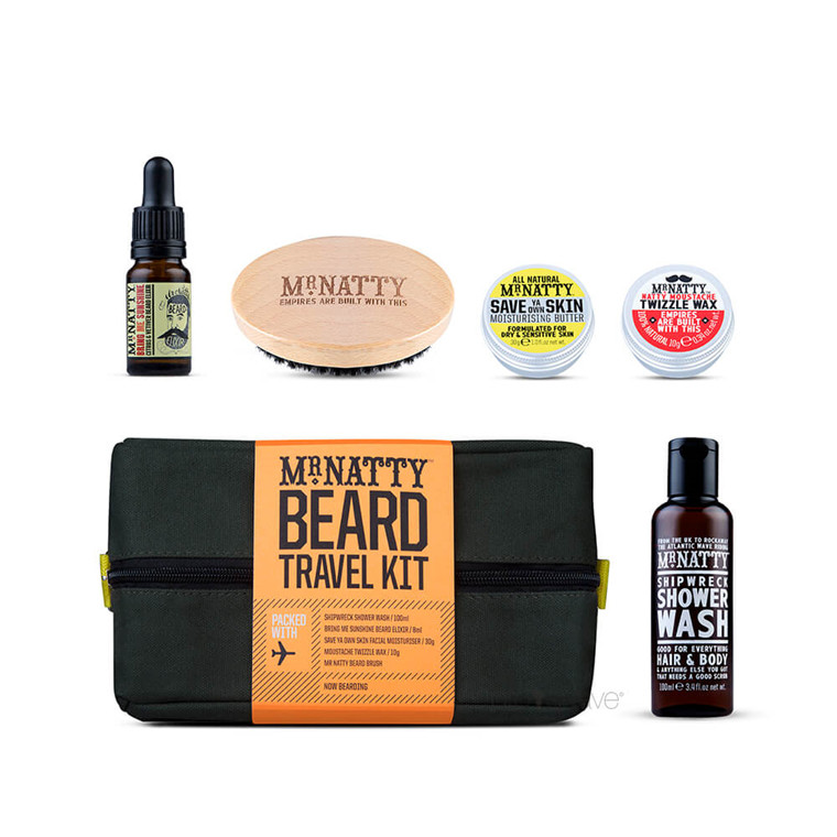 Mr Natty Travel Wash Kit, Beard