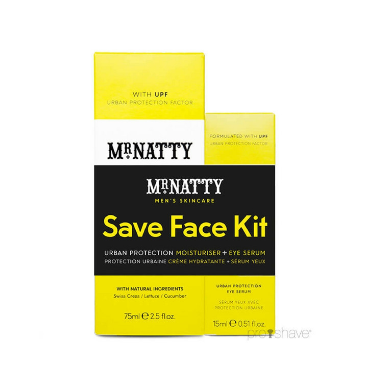 Mr Natty Urban Protection Duo Save Face Kit