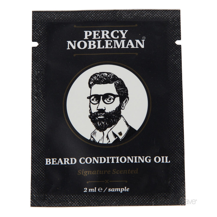 Percy Nobleman Beard Conditioning Oil, Scented, SAMPLE, 2 ml.