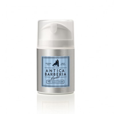 Mondial Antica Barberia Preshave Creme, Original Talc, 50 ml.