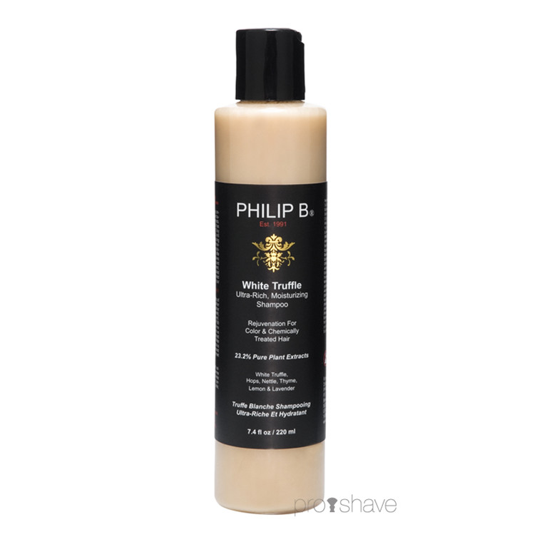 Philip B White Truffle Ultra-Rich Moisturizing Shampoo, 220 ml.