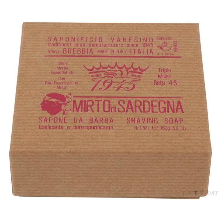 Saponificio Varesino Barbersæbe Mirto di Sardegna, 150 gr.