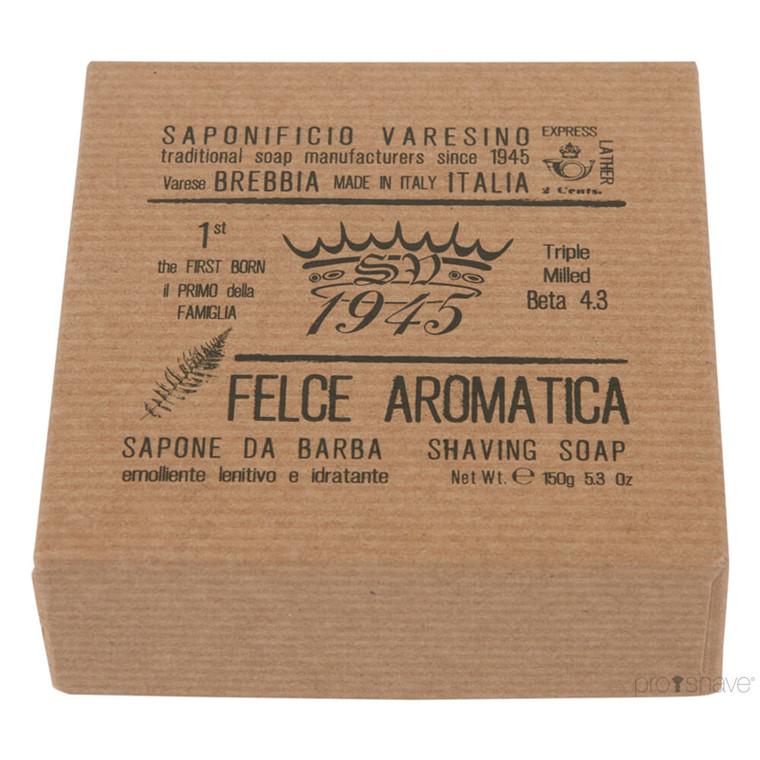 Saponificio Varesino Barbersæbe Aromatic Fern, 150 gr.