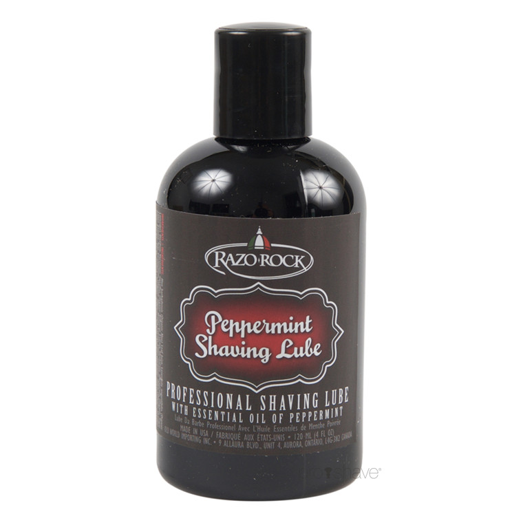 RazoRock Professional Shave Lube, Peppermint, 120 ml.