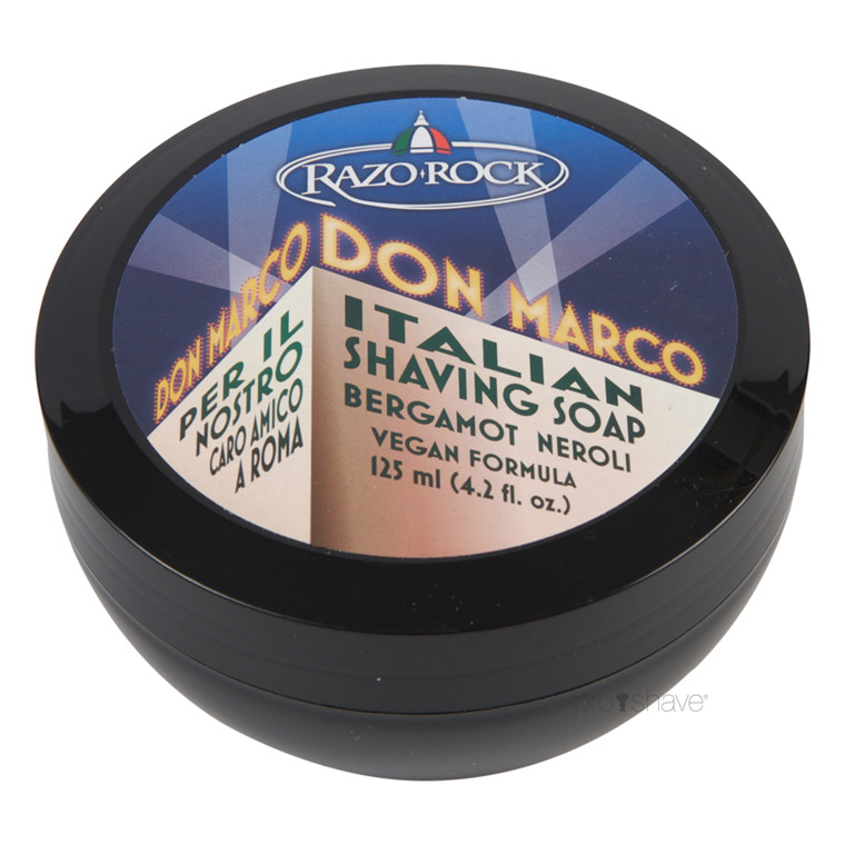 RazoRock Don Marco Barbersæbe, 125 ml.
