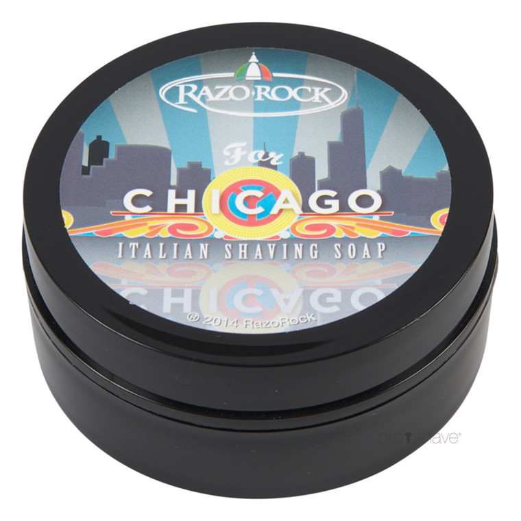 RazoRock For Chicago Barbersæbe, 125 ml.