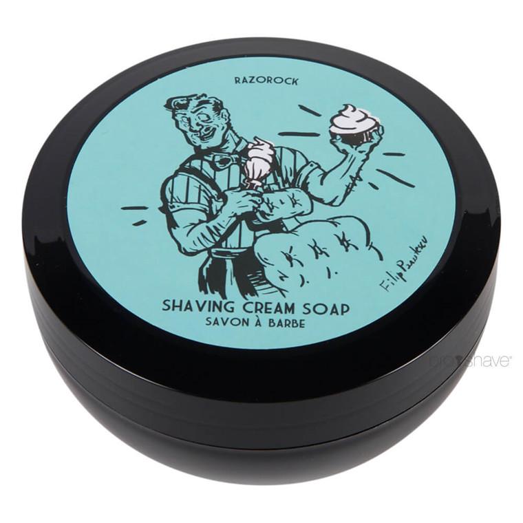 RazoRock Blue Barbershop Barbersæbe, 150 ml.