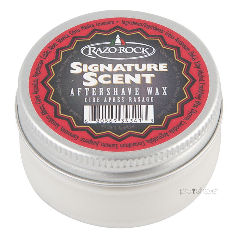RazoRock Signature Scent Aftershave Wax, 60 ml.