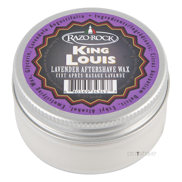 RazoRock King Louis Lavender Aftershave Wax, 60 ml.