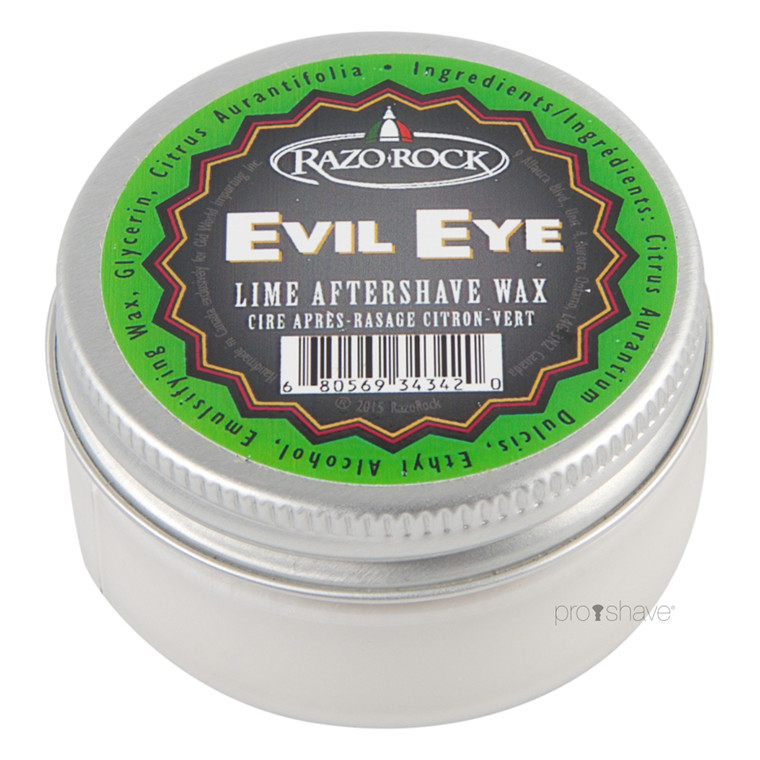 RazoRock Evil Eye Lime Aftershave Wax, 60 ml.