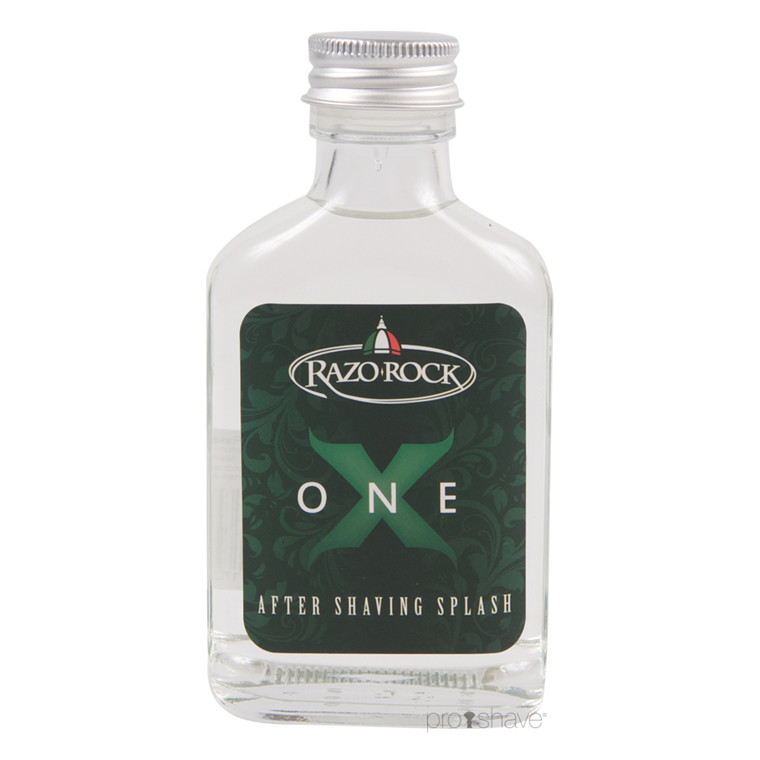 RazoRock One-X Aftershave Splash, 100 ml.