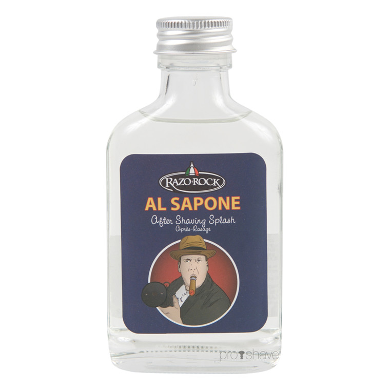 RazoRock Al Sapone Aftershave Splash, 100 ml.