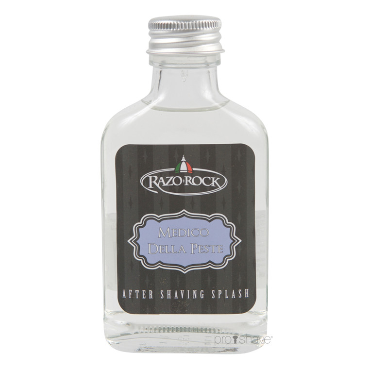 RazoRock Medico della Peste Aftershave Splash, 100 ml.