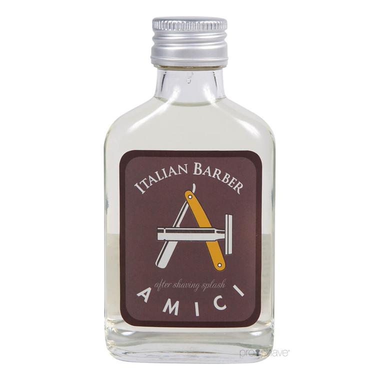 Italian Barber Amici Aftershave Splash, 100 ml.