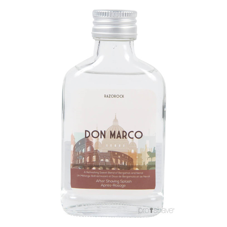 RazoRock Don Marco Aftershave Splash, 100 ml.