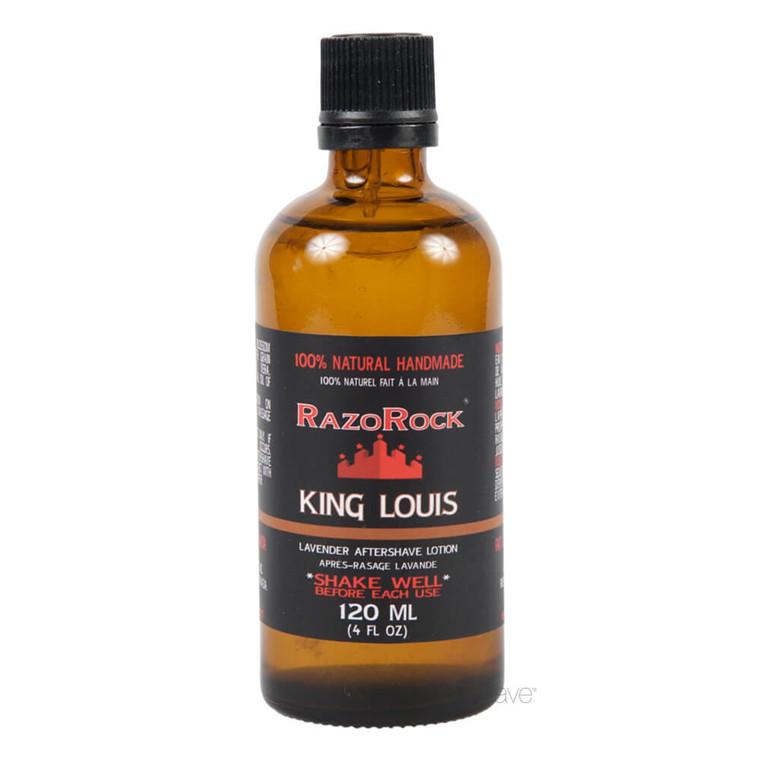 RazoRock King Louis Lavender Aftershave tonic, 120 ml.