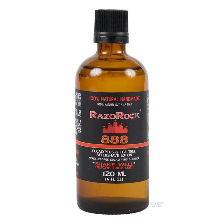 RazoRock 888 Eucalyptus Tea Tree Aftershave tonic, 120 ml.
