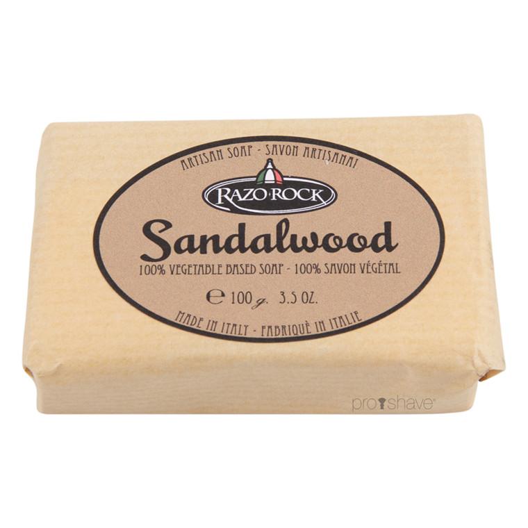 RazoRock Sandeltræ Sæbe, 100 gr.