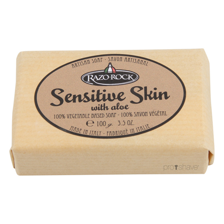 RazoRock Sensitive Skin Sæbe, 100 gr.