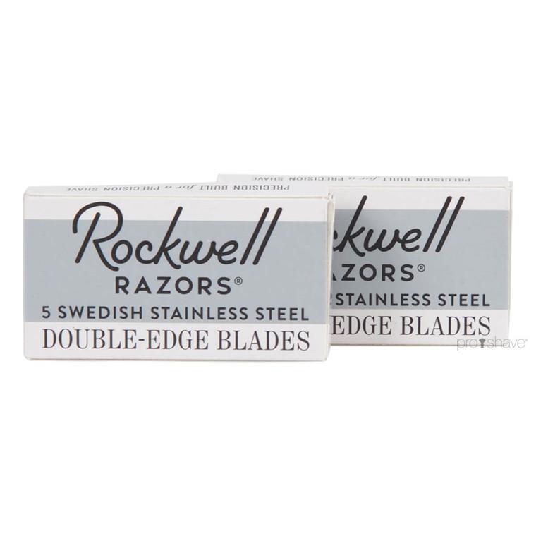 Rockwell DE-Barberblade, 2x5 stk. (10 stk.)