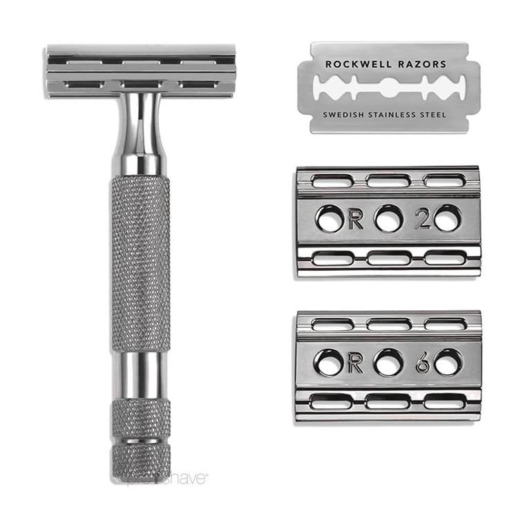 Rockwell 6C Justerbar DE-Skraber, Gunmetal
