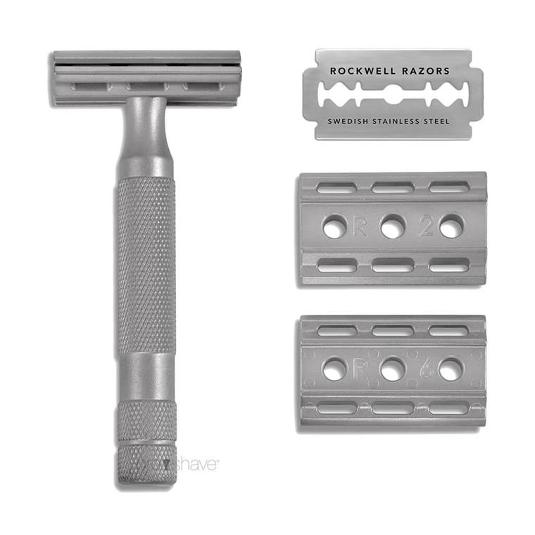 Rockwell 6S Justerbar DE-Skraber, Rustfrit stål