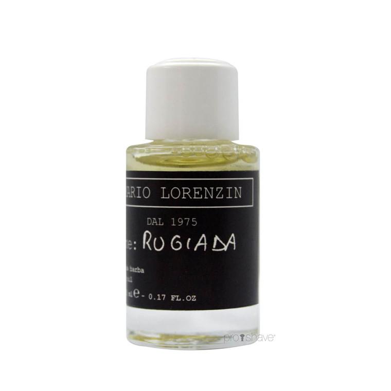 Mario Lorenzin 1975 Beard Oil, Rugiada, Luksus sample, 5 ml.