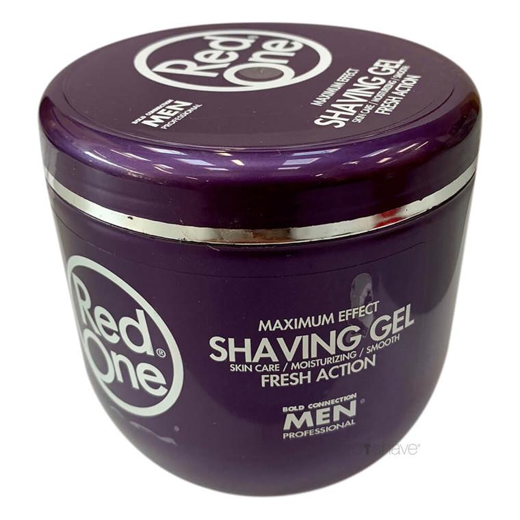 RedOne Shaving Gel, Fresh Action, 500 ml.