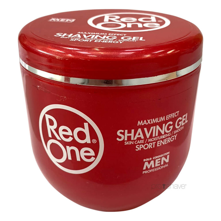 RedOne Shaving Gel, Sport Energy, 500 ml.
