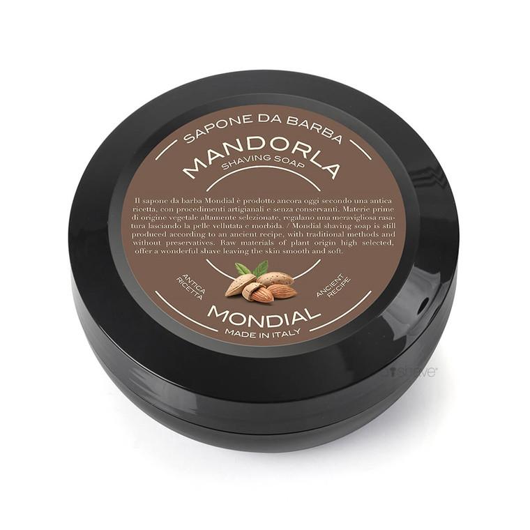 Mondial Shaving Barbersæbe, Mandel, 60 gr.