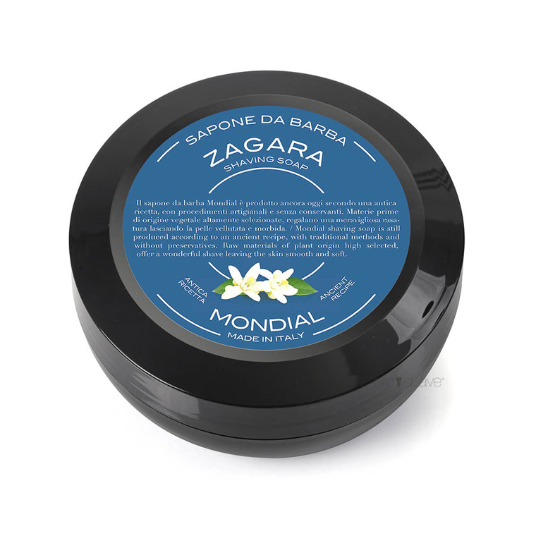 Mondial Shaving Barbersæbe, Zagara, 60 gr.