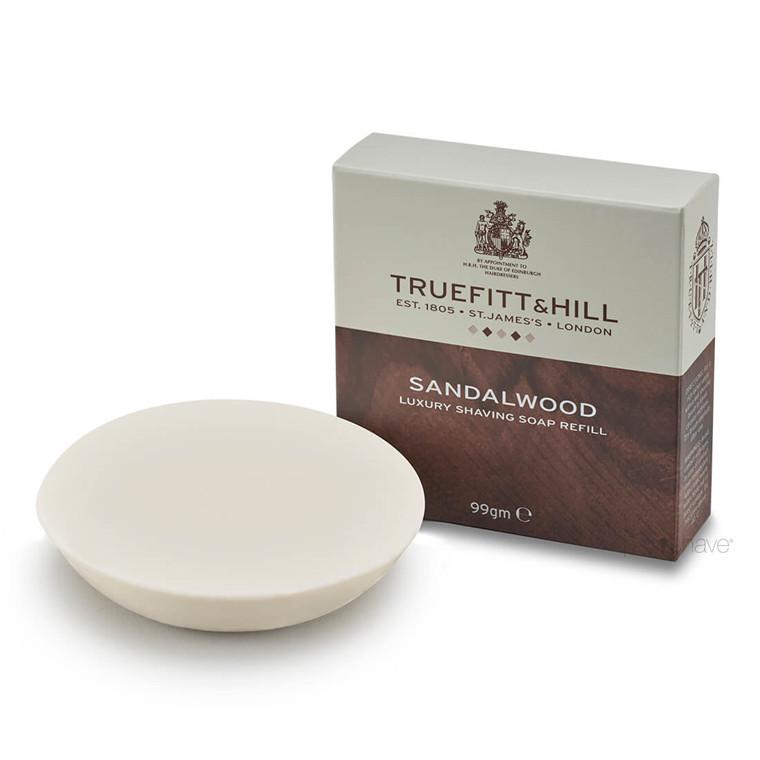 Truefitt & Hill Barbersæbe refill, Sandalwood, 99 gr.