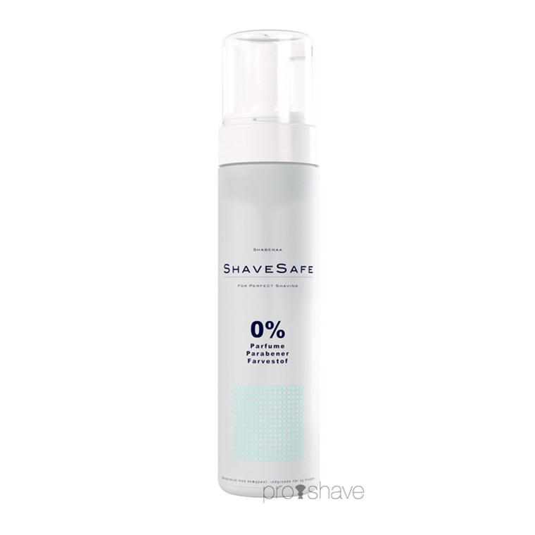 ShaveSafe Barberskum, Normal hud, 200 ml.