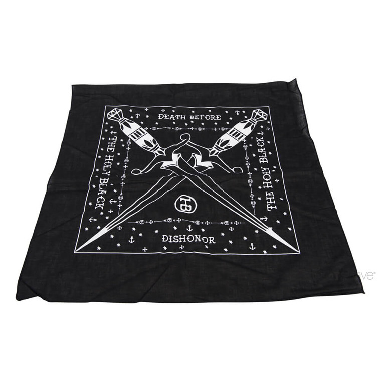 The Holy Black Bandanna